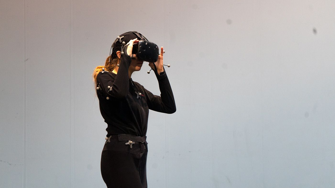 Women with VR Headset